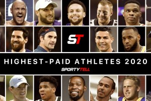 Top-20 Highest-Paid Athletes In The World 2020