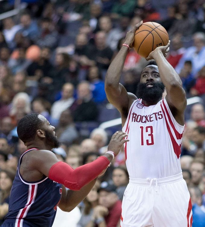 James Harden with Houston Rockets