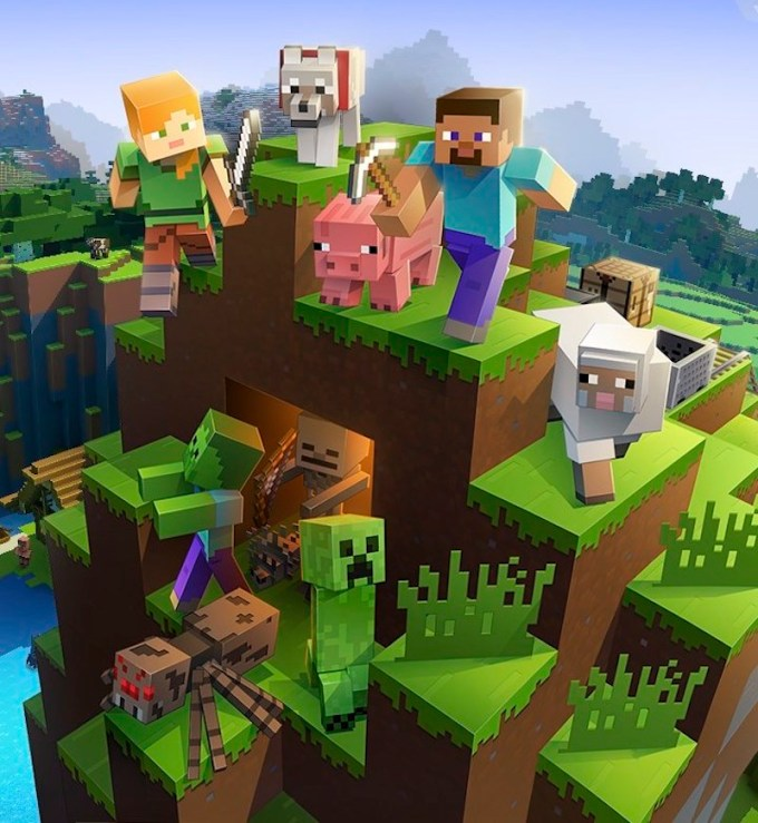 Minecraft for iOS and Android