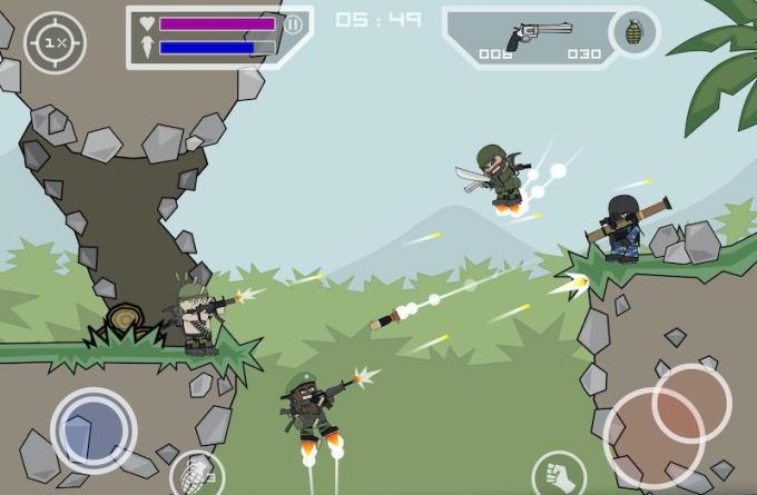 Mini Militia - Doodle Army 2 for iOS and Android