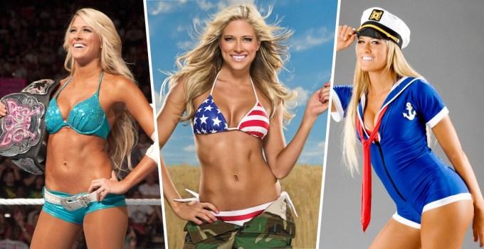 Beautiful Female Wrestlers - Kelly Kelly