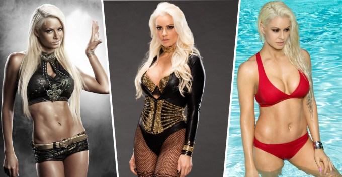 Hottest Female Wrestlers - Maryse