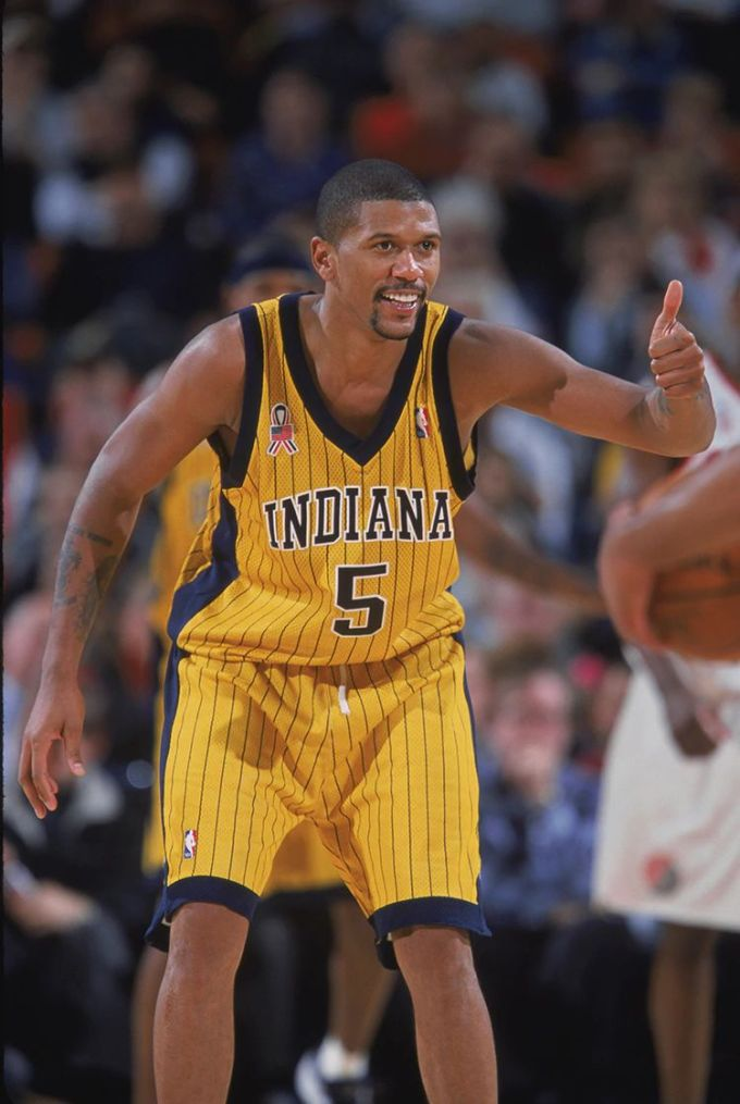 Jalen Rose Career with Indiana Pacers