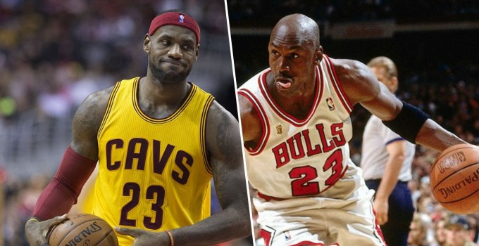 Michael Jordan Vs Lebron James Nba Goat Debate
