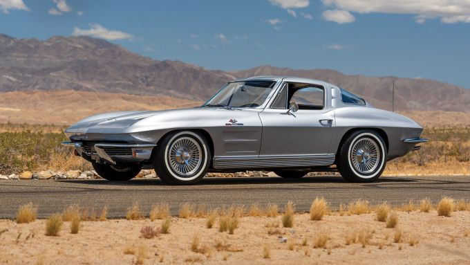 1963 Corvette Stingray Split-Window Coupe