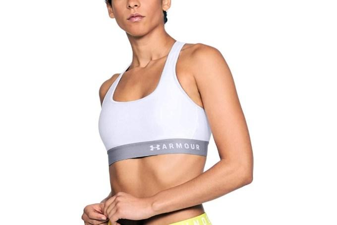Under Armour Women's HeatGear Mid Impact Sports Bra