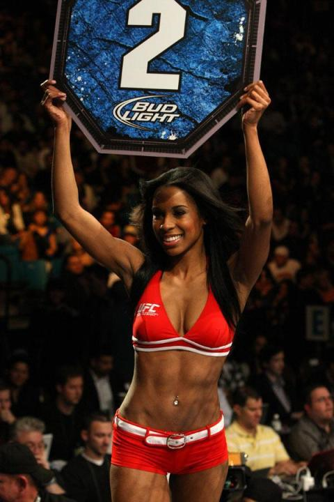 Sexiest UFC Ring Girls – Chandella Powell