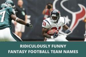 500+ Funniest Fantasy Football Team Names 2020