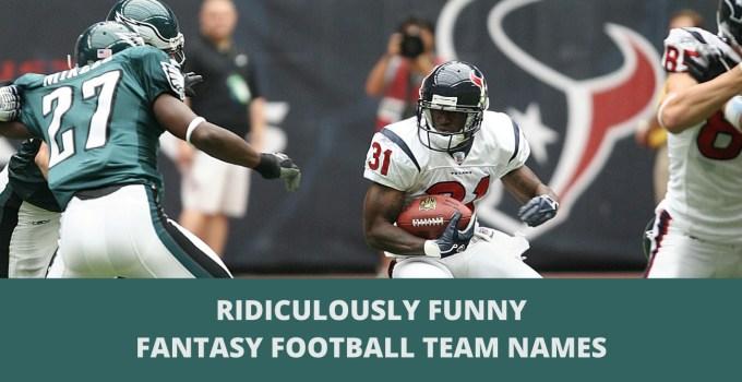 500+ Funniest Fantasy Football Team Names