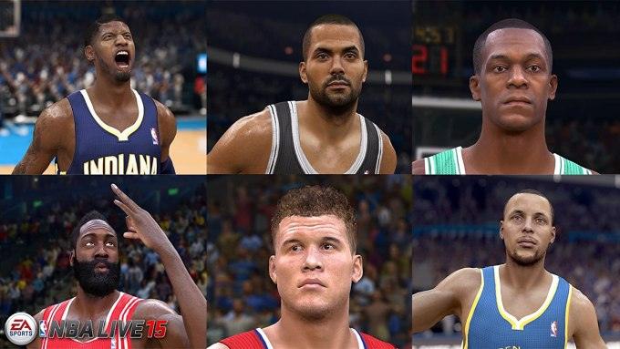 Nba Live 15 Video Game