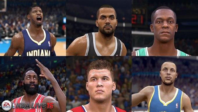 NBA Live 15 Video Game