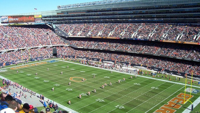 NFL Stadiums by Construction Cost – Chicago Bears, Soldier Field