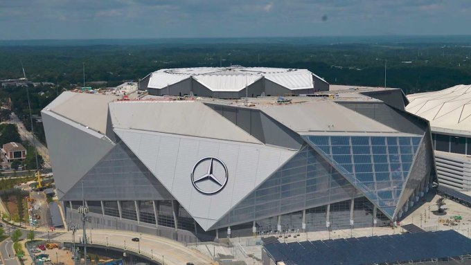 Loudest NFL Stadiums - Mercedes Benz Stadium - New Orleans Saints