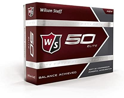 Wilson Staff Fifty Elite Golf Ball