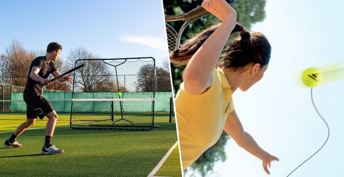 Best Tennis Trainers & Rebounders