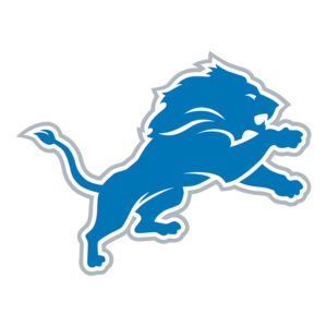 Detroit Lions Team Transparent Logo