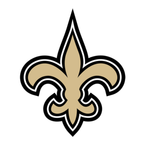 NFL New Orleans Saints Team Transparent Logo
