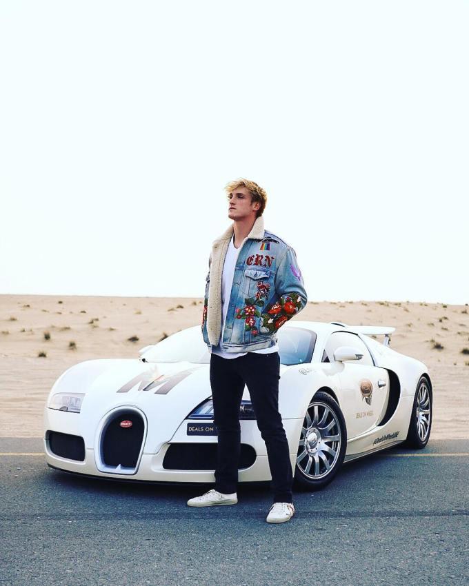 Logan Paul's Car Collection