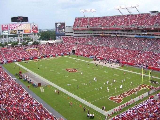 Raymond James Stadium, Tampa, Floride, USA