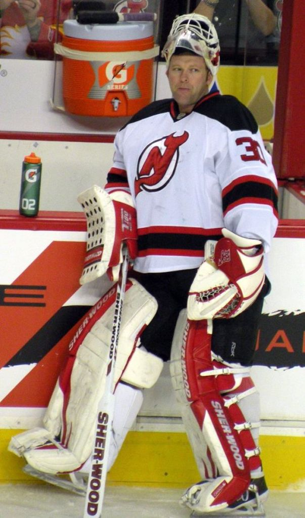 Martin Brodeur with the New Jersey Devils 2012