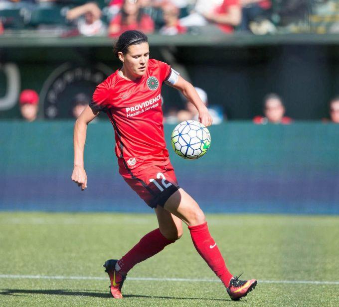 Christine Sinclair — Highest Paid Women's Soccer Player