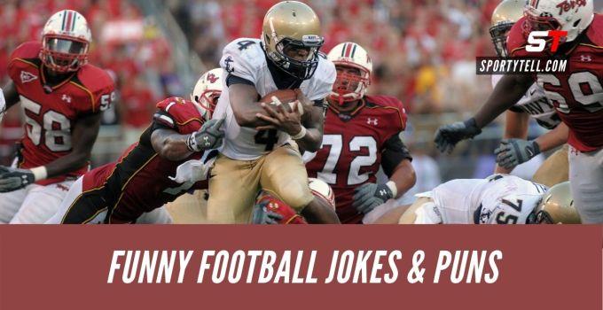Hilariously Funny Football Jokes & Puns