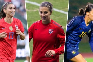 Top-15 Highest Paid Female Soccer Players' Salaries
