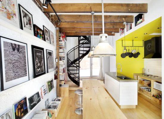 Renovari: The Tire Shop, un proiect de renovare a unui fost magazin de anvelope din Montreal