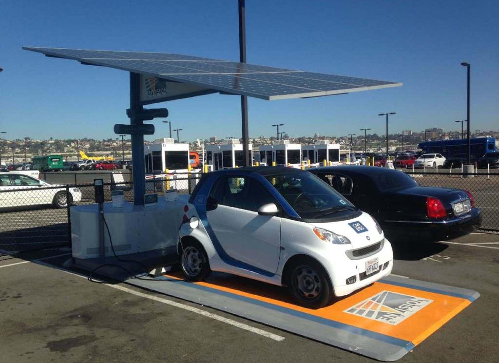 Parcarea solara si masina electrica - un pas in plus spre independenta energetica