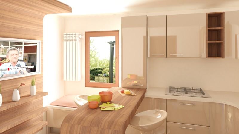 Inspiraţie: mobilă de bucătărie perfect adaptată stilului tău personal