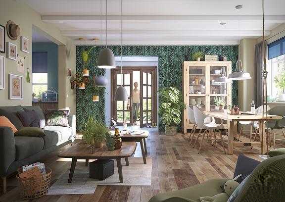 Stilurile primăverii 2016 în amenajarea locuinţei