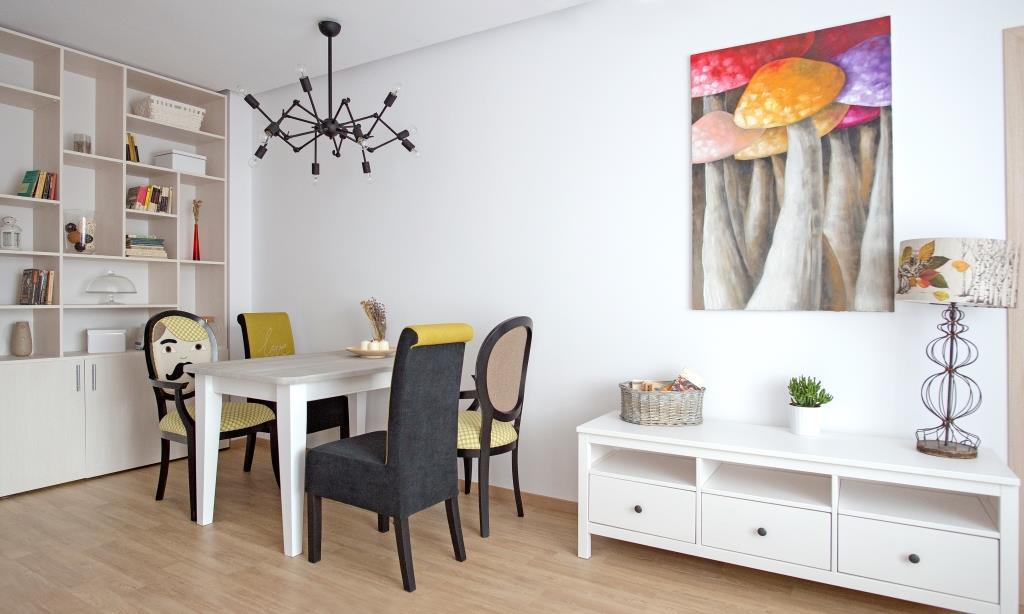 Amenajarea unui apartament cu 2 camere. Concept amenajare: Irina Neacşu, pentru The Park Apartments
