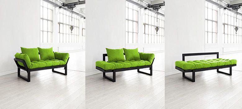 Fotolii şi canapele extensibile uşoare, cu design scandinav