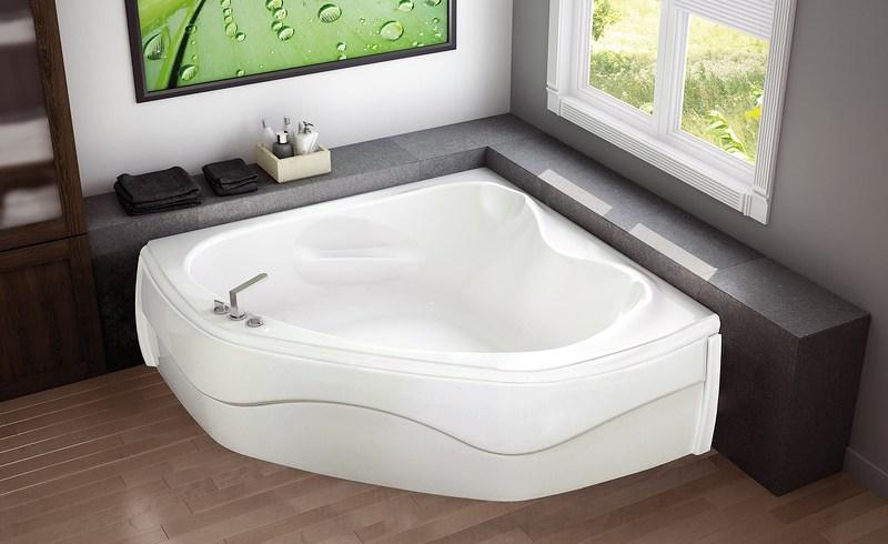 Căzi de baie de colț: modele și idei de amenajare