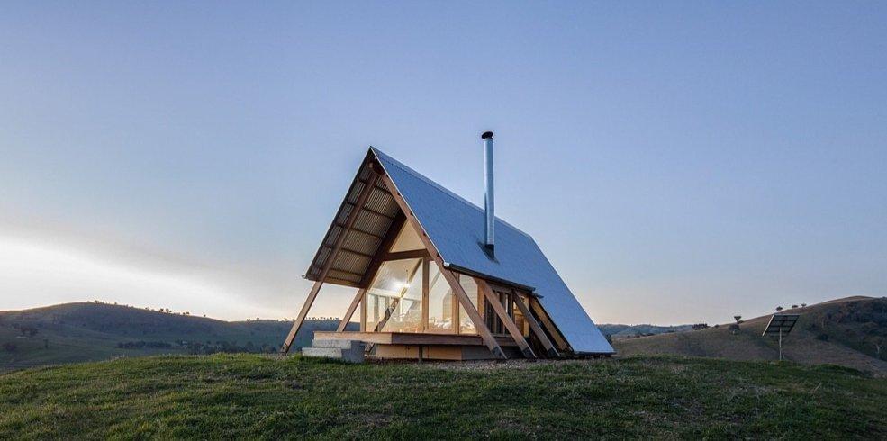 Căsuță de lemn de 28 mp, perfectă pentru grădină sau pentru închiriere