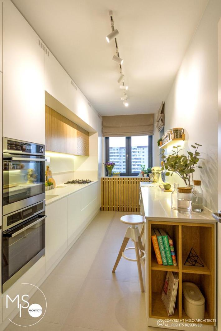 Miso Architects amenajare moderna apartament Bucuresti bucatarie 1