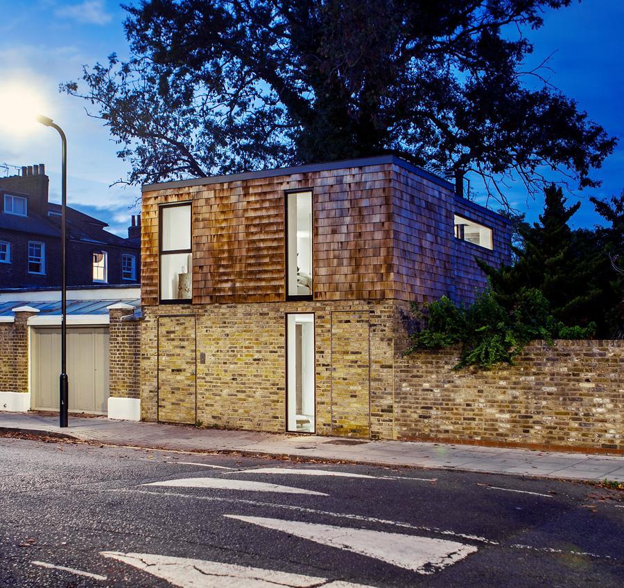 The Gouse, o casă cu amprentă de 45 mp, construită pe locul unui fost garaj