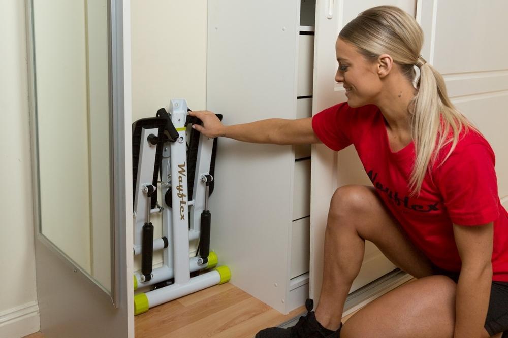 Echipament sportiv pliabil: 5 aparate de fitness pentru acasă, pe care le vezi numai când te antrenezi