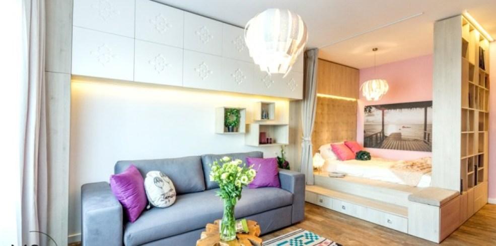 Studio tradiţional românesc: amenajarea unui apartament de 41 mp