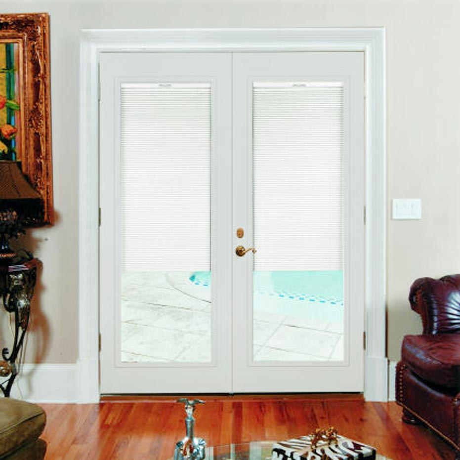 Sliding French Patio Doors With Built In Blinds. mp doors