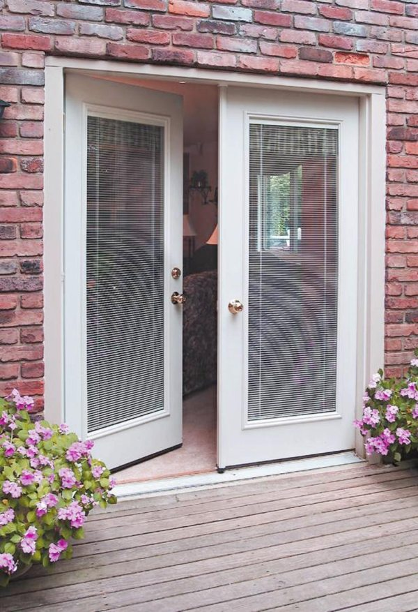 French Patio Doors With Blinds Between Glass Vtwctr