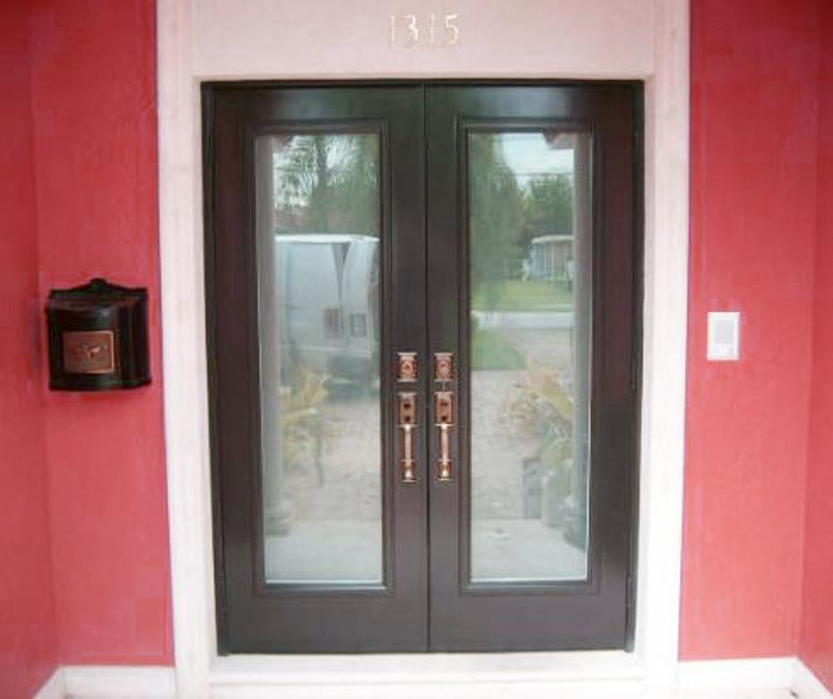 Style of French Patio Doors with Built in Blinds