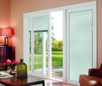 Valances for Sliding Glass Doors with Blinds Inside | Spotlats