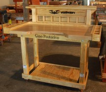 Custom Woodworking Work Bench