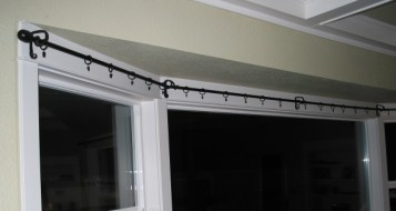 Large Bay Window Curtain Rods BestCurtains