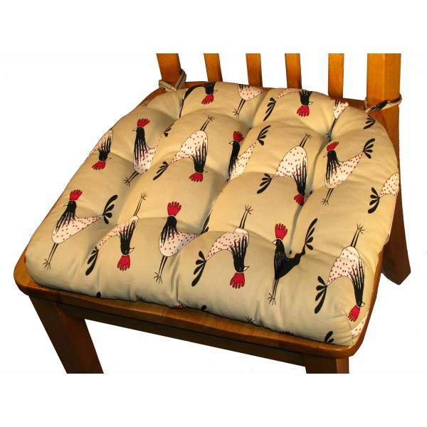 Kitchen Chair Pad with Ties  Spotlats