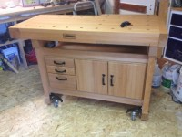 Woodworking Work Bench : Spotlats