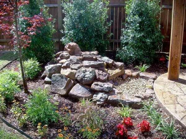 gravel landscaping ideas spotlats