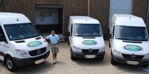 Spotless Carpet Cleaning vans