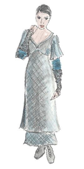 Rendering for Portia. Played by Shirine Babb.